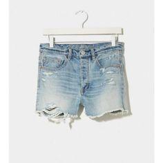 Light Blue Denim Shorts by American Eagle Outfitters. Buy for $14 from American Eagle Outfitters