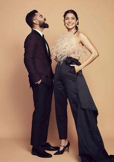 Get the outfit worn by anushka sharma. Visit our celebrity closet. Anushka Sharma Virat Kohli, Virat And Anushka, Bollywood Couples, Bollywood Stars, Anushka Sharma Images, Virat Kohli Wallpapers, Cute Actors, Indian Celebrities, Couple Posing