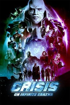 D-523 Crisis On Earth X Arrowverse 2017 Superhero The Flash TV Series Poster Art