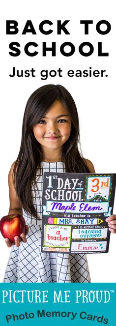 My first day of school MUST HAVE. So much cuter than my handmade sign from last year and easier. First Day Of School Pictures, 1st Day Of School, School Boy, Pre School, Back To School, School Daze, My Teacher, School Teacher, School Must Haves