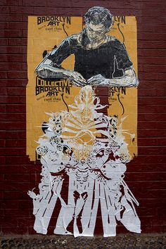 Swoon, Street artist from the US that has something special going on...