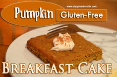 Pumpkin Breakfast Cake (S)