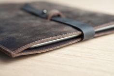 Brown leather iPad Cover iPad 2 / 3 Case iPad by EMILISTUDIO, $89.00