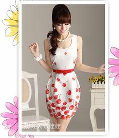 cute cherry dress