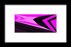 Framed Print of 'Pink 2' by Sumi e Master Linda Velasquez. All My Apparel in SHOP at top of site.