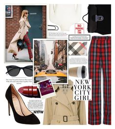 """""""Urban-casual street style,fashion guide!"""" by jelena-bozovic-1 ❤ liked on Polyvore featuring JoosTricot, Black Swan, Burberry, Gucci, OUTRAGE, EyeBuyDirect.com, TAXI, Anastasia Beverly Hills, Polaroid and contestentry"""