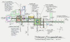 downtown concept sketch | Flickr: Intercambio de fotos