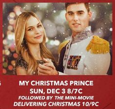 Its a Wonderful Movie - Your Guide to Family and Christmas Movies on TV: My Christmas Prince - a Lifetime Christmas Movie Premiere!