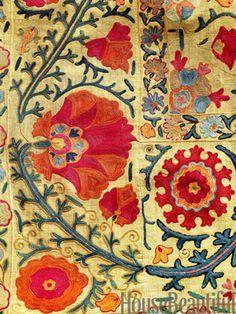 Antique fabric from Uzbekistan
