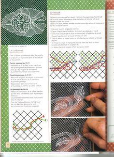 La Dentelle de Tulle - Line B - Álbumes web de Picasa                                                                                                                                                                                 Más Smocking Patterns, Crochet Doily Patterns, Lace Patterns, Thread Crochet, Crochet Lace, Knitting Patterns, Russian Crochet, Clothes Patterns, Crochet Doilies