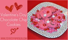 Itsy Bitsy Paper: . . . Cookie Time Tuesday -- Valentine's Day Chocolate Chip Cookies . . .