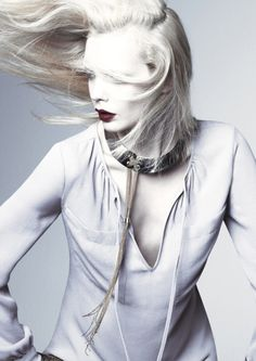 White. Sophie Srej by #Chad Pitman via #bienenkiste.