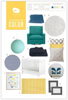 Nursery #06: Practical and Patterned | Hellobee