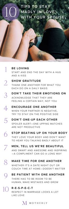 All happy couples use these 10 strategies to stay in love.