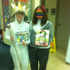 Book character day! Where The Wild Things Are and A Bad Case Of Stripes!