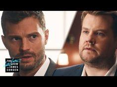 James Corden and Jamie Dornan 50 Shades of Corden Video   POPSUGAR Celebrity Australia