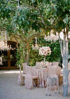 Outdoor Garden Wedding Decorations .