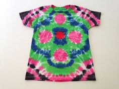 Kids Small Tie Dye T-shirt by WhimsyandWicked on Etsy