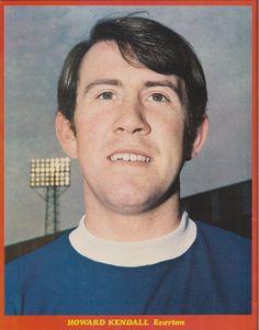 Howard Kendall Everton 1971