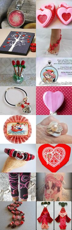 Valentine Gifts by cheryl wagner on Etsy--Pinned with TreasuryPin.com