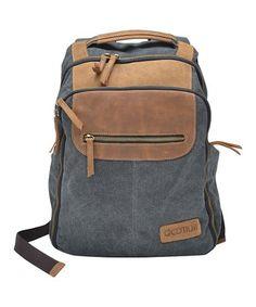 Look at this  zulilyfind! Gray Laptop Backpack  zulilyfinds Latest Laptop 99b0702cf0359