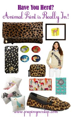 Have You Herd? Animal Print is Really In!