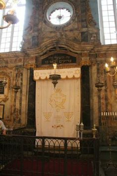 Avignon, France: At the synagogue in Carpentras