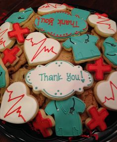 Medical Thank You Platter for NICU Nurses/Staff ~ Cookie Connection