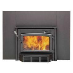 Century Heating High-Efficiency Wood Stove Fireplace Insert — 65,000 BTU, EPA-Certified, Model# CB00005