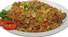 Arroz Chaufa de Pollo - Comida Peruana