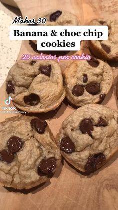 Healthy Deserts, Healthy Sweets, Healthy Dessert Recipes, Sweets Recipes, Healthy Baking, Cookie Recipes, Healthy Food, Healthy Snacks To Make, Comida Diy
