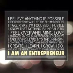 I Believe Anything Is Possible! I Am An Entrepreneur. I Am A Network Marketing Professional Benjamin Franklin, Great Quotes, Quotes To Live By, Fantastic Quotes, Awesome Quotes, Leadership, Believe, Motivational Quotes, Inspirational Quotes