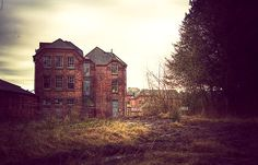 whittingham asylum doesnt look so bad...or sad...or mad....mad.ness taker her toll