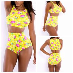 I love the color, high neck, waist & leg cut combination of this Bikini Set Swimsuit which says it comes in sizes M L XL Sale at: http://www.wholesalevoguedresses.com/bandage-bodycon-dress-new-arrival-sexy-womens-vest-tops-high-waist-bikini-set-swimsuit-floral-printed-swimwear-bathingsuit-beachwear-m-l-xl-sale-p-13744.htm?cPath=25 & its like $10.35...1/20/15