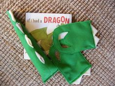 Dino Tail halloween costume Dinosaur Monster Tail and Feet for Pretend and Play. $15.00, via Etsy.