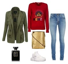 vdfkkhv by kata-szabo on Polyvore featuring polyvore fashion style Kenzo LE3NO Yves Saint Laurent NIKE B.May clothing
