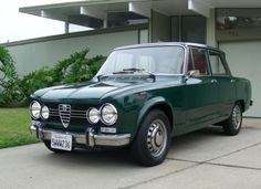 Had one of these - Alfa Romeo Giulia 1600 S - got her out on the road to 110 mph I didn't have her long but it was fun while I did!