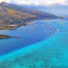Needed something to spark your wanderlust? You're welcome. Photo courtesy of Instagram's mthiessen in Tahiti.