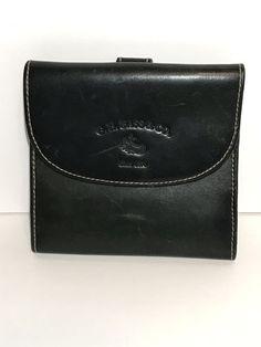 632c9e58af GH Bass   Co Genuine Leather Wallet Black Billfold