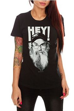 Duck Dynasty shirt- that's what I'm talking about, Jack!