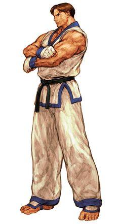 Kim Kaphwan (Fatal Fury) - Pictures & Characters Art - Capcom vs. SNK