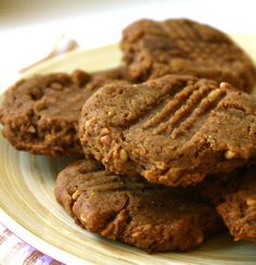 <p>A perfectly soft, chewy vegan cookie with just enough crunch. Try dunking 'em in some dairy-free milk. Or just gobble 'em up by themselves.</p>