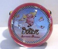 Mary Engelbreit Believe Anything Paperweight