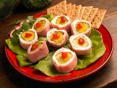 Paula Deen's Ham & Pickle Pinwheel Appetizer