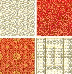 padrões arabesco