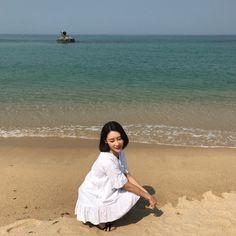 오랜만에 바다 🐠🐟🐬🐳  #와썹 #우주 #WASSUP #강릉 #안목해변 #카페거리 #에메랄드색바다 #신나쪙 #💙