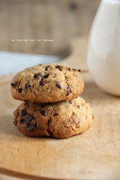 cookies007 cookies au beurre de cacahuète, pépites de chocolat et éclats de caramel