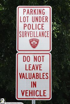 gawck's funny sign friday™: You can't trust anyone these days.