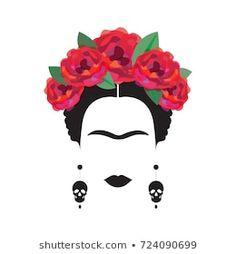 Abstract Canvas, Canvas Art, Mexican Paintings, Frida Art, Makeup Artist Logo, Stencil Art, Fractal Art, Framed Art Prints, Watercolor Art
