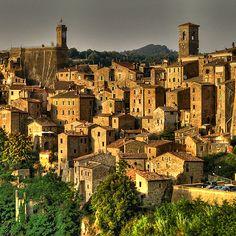 Siena provincia dela Toscana ITALIA